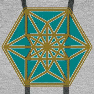 Cuboctahedron, structure of the universe, Fuller Hoodies & Sweatshirts - Men's Premium Hoodie