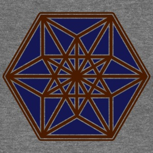 Cuboctahedron, structure of the universe, Fuller Hoodies & Sweatshirts - Women's Boat Neck Long Sleeve Top