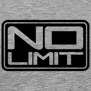No Limit Shield T-Shirts - Men's Premium T-Shirt