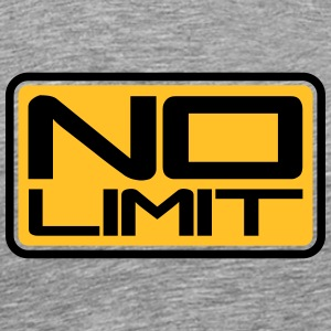 No Limit Shield Camisetas - Camiseta premium hombre