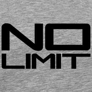 No Limit Design Camisetas - Camiseta premium hombre