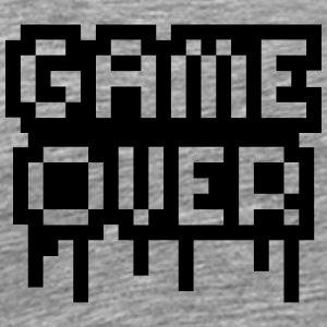 Game Over Stamp Tee shirts - T-shirt Premium Homme