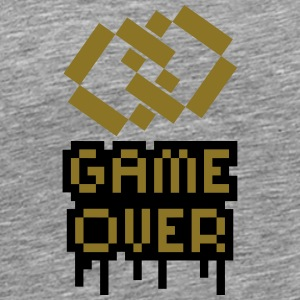 Game Over Marriage Rings T-shirts - Mannen Premium T-shirt