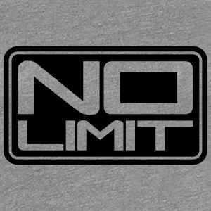 No Limit Shield T-shirts - Vrouwen Premium T-shirt