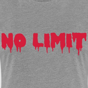 No Limit T-shirts - Premium-T-shirt dam