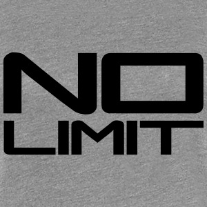 No Limit Design T-shirts - Premium-T-shirt dam