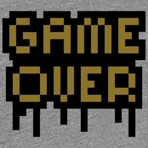 Game Over T-shirts - Dame premium T-shirt