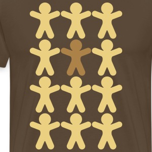 Group gingerbread  T-Shirts - Men's Premium T-Shirt