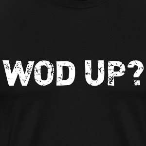 WOD Up - Crossfit T-shirts - Premium-T-shirt herr