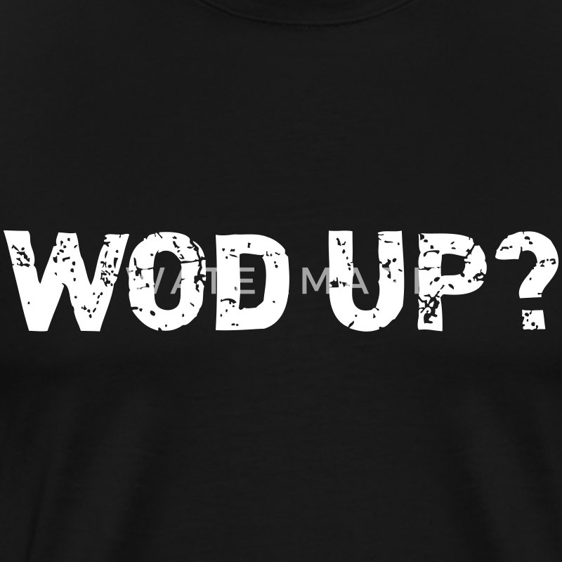 WOD Up - Crossfit T-shirts - Mannen Premium T-shirt
