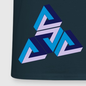 Penrose Triangle Tee shirts - T-shirt Homme