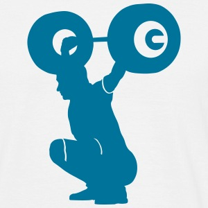 weightlifter T-Shirts - Men's T-Shirt
