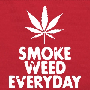 smoke weed everyday leaf Bags & backpacks - Retro Bag