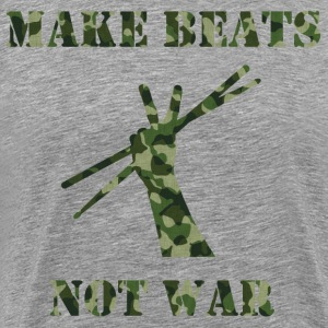 Make Beats Not War - Men's Premium T-Shirt