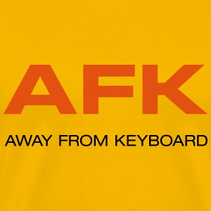 AFK Away from keyboard BIG BANG Penny T-Shirts - Männer Premium T-Shirt
