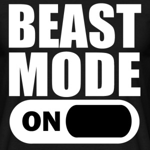 Beast Mode On - Men's T-Shirt