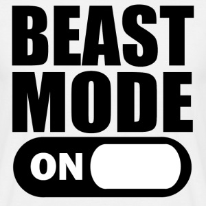 Beast Mode On t-shirt - Men's T-Shirt