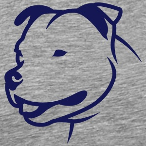 Staffbull HEAD 1c_4light T-Shirts - Männer Premium T-Shirt