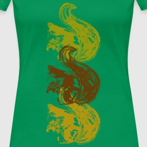 Squirrel T-Shirts - Women's Premium T-Shirt