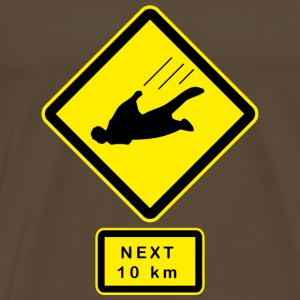 Keep out ! Skydivers Tee shirts - T-shirt Premium Homme
