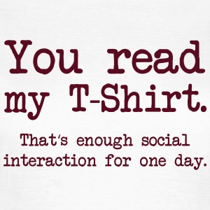 Social Interaction T-Shirts - Women's T-Shirt