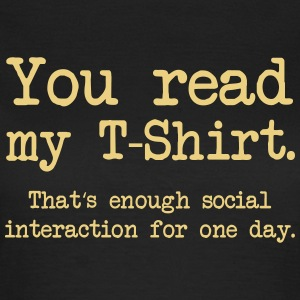 Social Interaction T-Shirts - Frauen T-Shirt