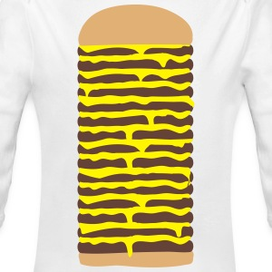 Cheeseburger Pullover & Hoodies - Baby Bio-Langarm-Body