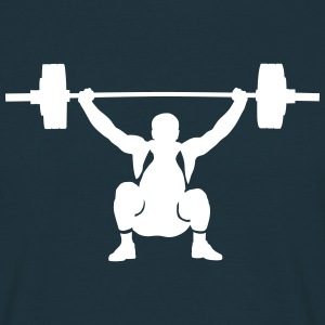 weightlifter T-skjorter - T-skjorte for menn