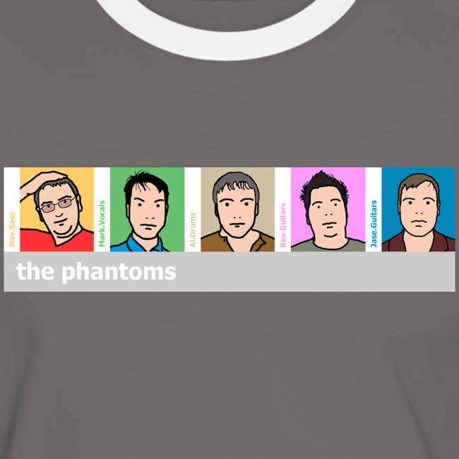 Phantoms Blurlike Mens Tee
