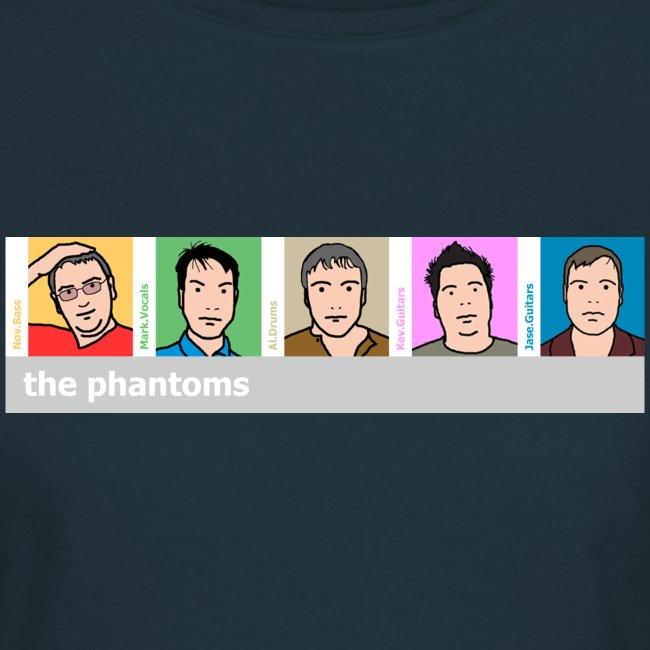 Phantoms Blurlike Lady Fit Tee