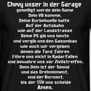 chevy, gebet, v8, muscle car, US Car - Men's T-Shirt