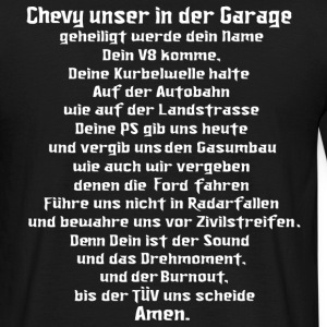 chevy, gebet, v8, muscle car, US Car - Männer T-Shirt