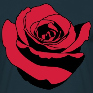 rose T-shirts - Mannen T-shirt