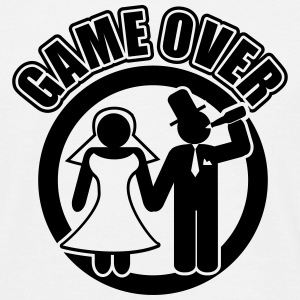 game over  T-Shirts - Männer T-Shirt