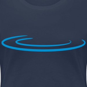 Water Drop Wave Camisetas - Camiseta premium mujer