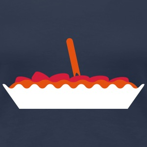 Yummy Currywurst T-shirts - Dame premium T-shirt