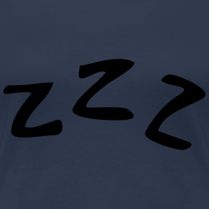 Sleeping ZZZ T-Shirts - Frauen Premium T-Shirt