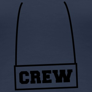 Crew Necklace Tee shirts - T-shirt Premium Femme
