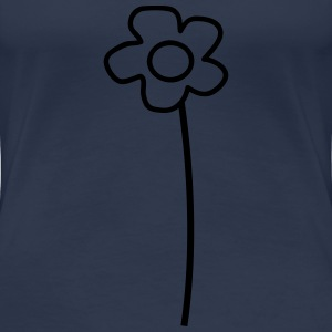 Beautiful Flower Tee shirts - T-shirt Premium Femme