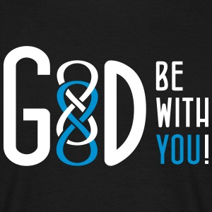 GOD be with YOU - Männer T-Shirt
