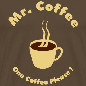 Mr. Coffee T-Shirts - Men's Premium T-Shirt
