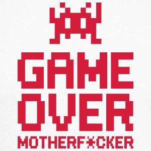 game over motherf*cker Skjorter med lange armer - Langermet baseball-skjorte for menn
