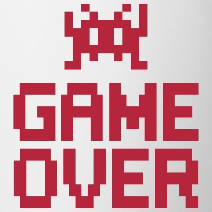 game over with sprite Flaskor & muggar - Mugg