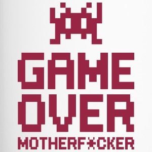game over motherf*cker Bottiglie e tazze - Tazza termica