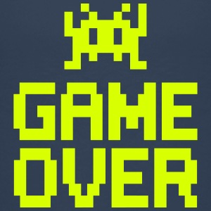 game over with sprite Camisetas - Camiseta premium adolescente