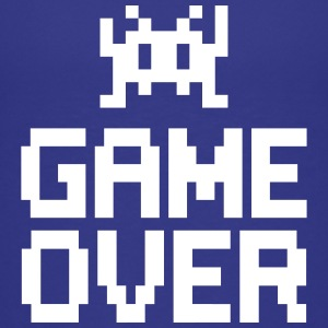 game over with sprite T-shirts - Børne premium T-shirt