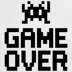game over with sprite T-shirts - Vrouwen contrastshirt