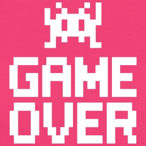 game over with sprite T-shirts - Vrouwen Bio-T-shirt