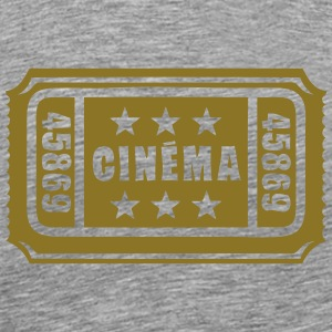 ticket cinema cine entrance 1 Tee shirts - T-shirt Premium Homme