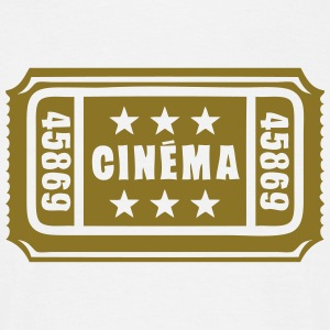 ticket cinema cine entrance 1 Tee shirts - T-shirt Homme